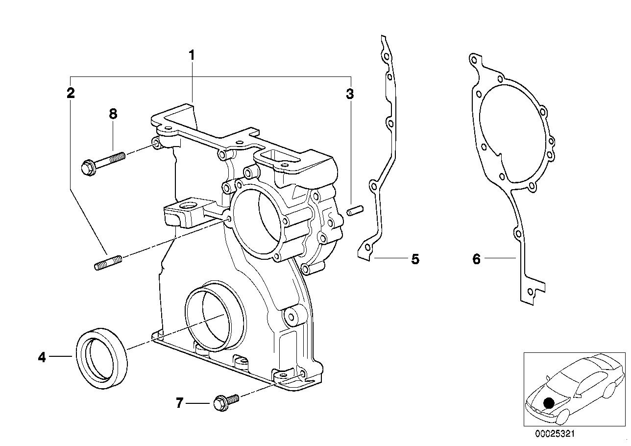 Timing case BMW E83 SAV 47792