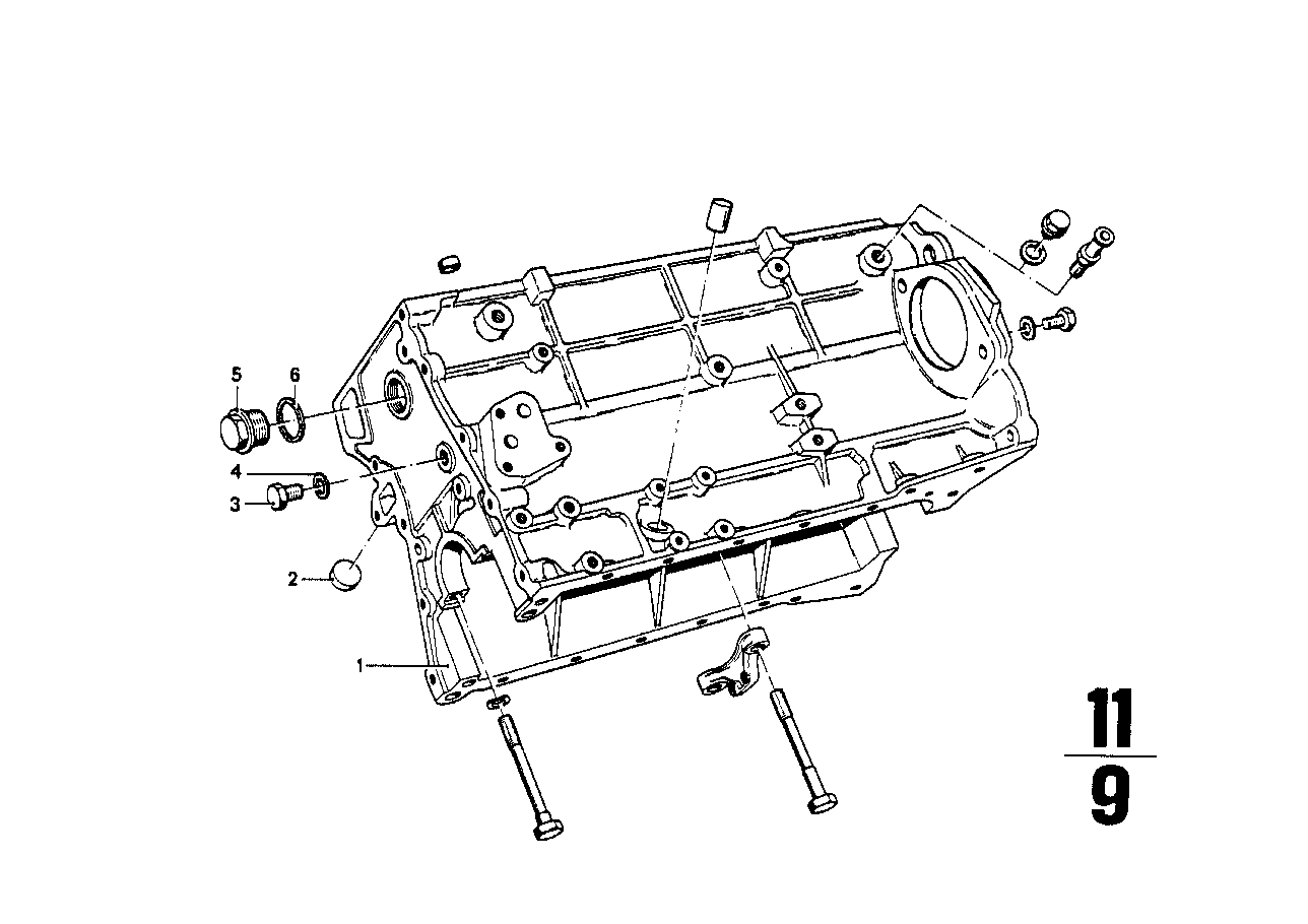 BMW Engine housing