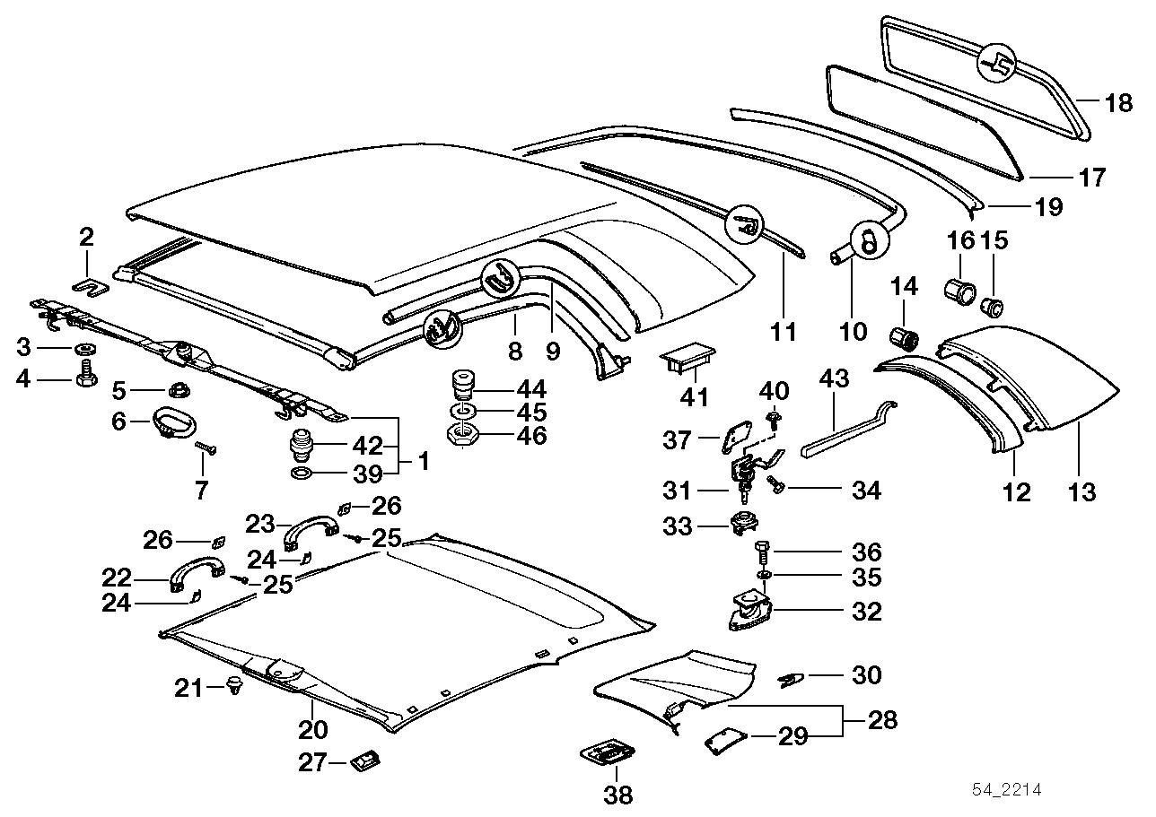 Bmw E36 Convertible Parts