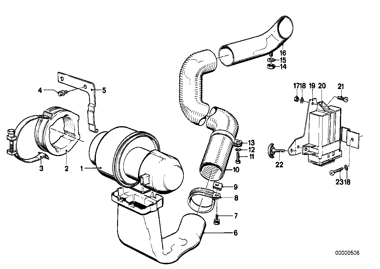 Turbo charger-blower