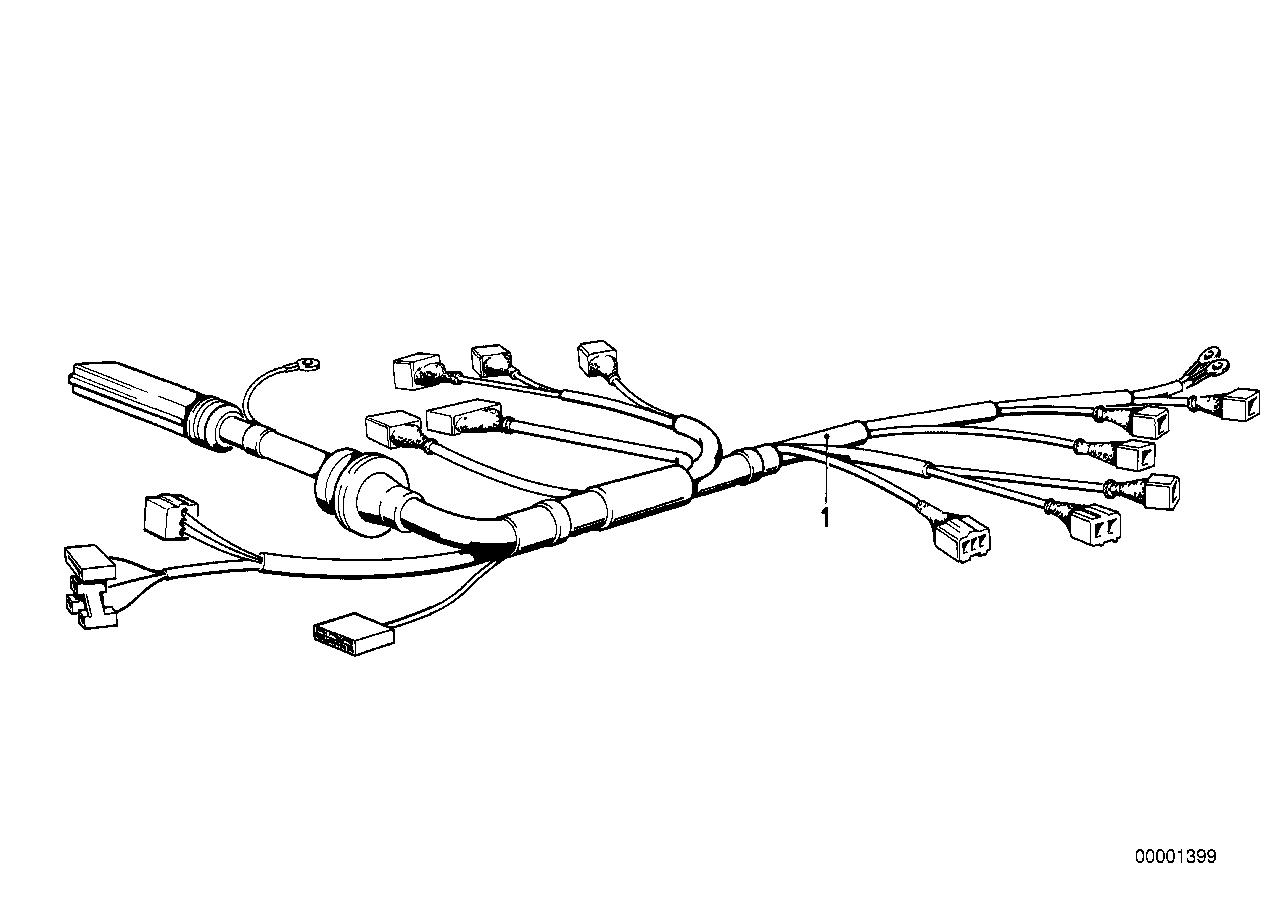 Electricité du moteur BMW E31 coupé 47330