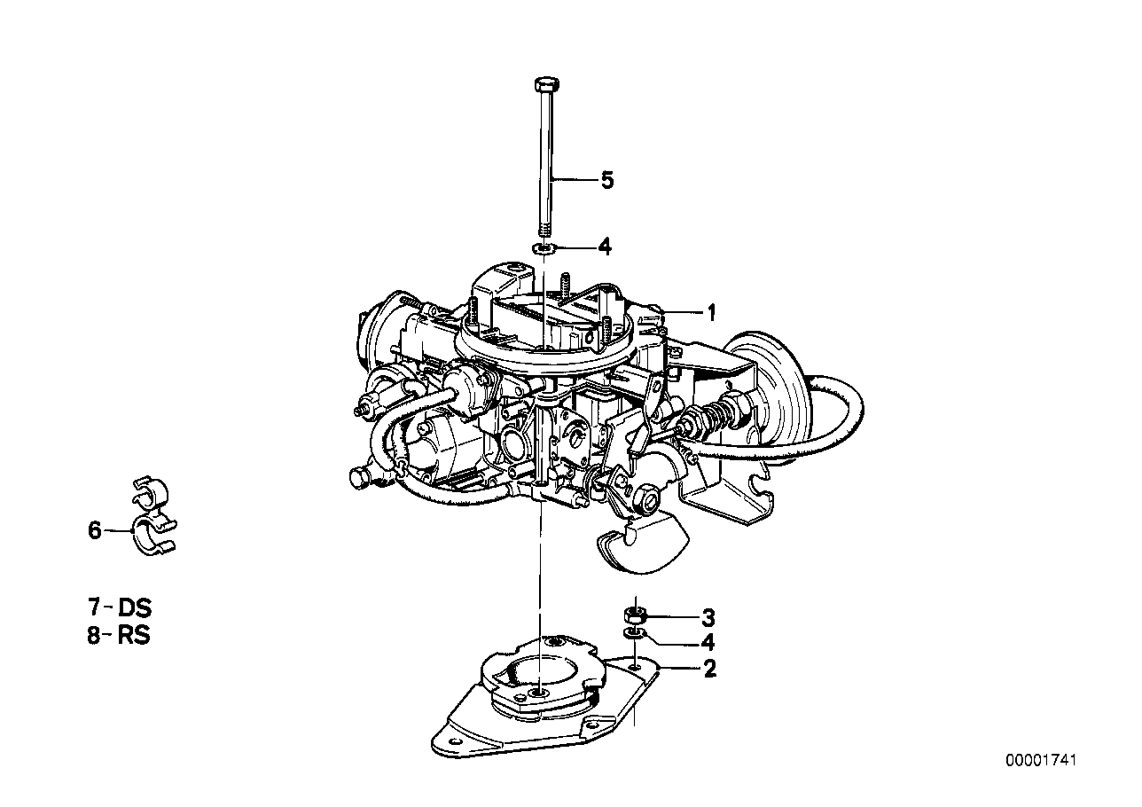 Carburettor 1b2