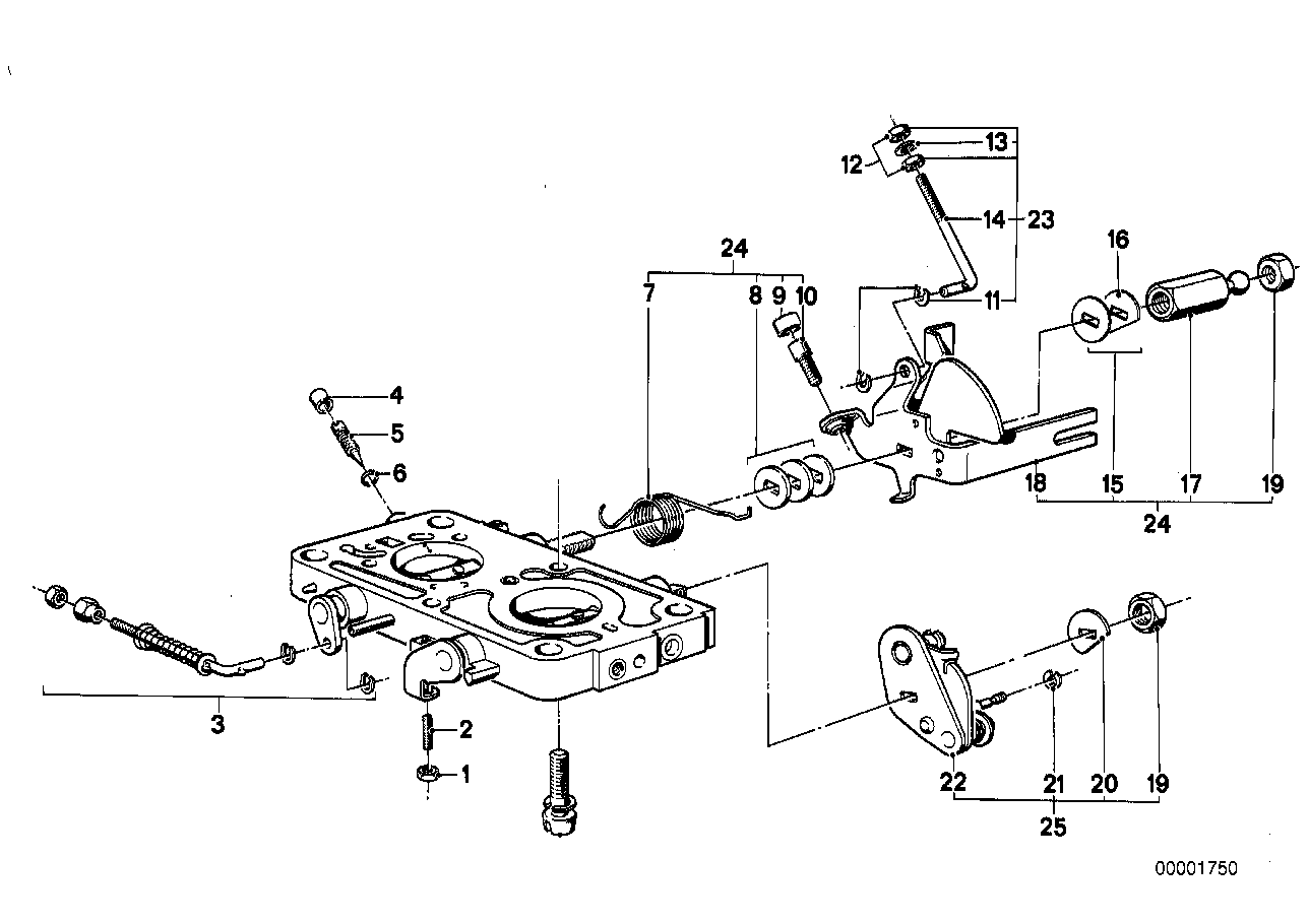 Lever-shaft assy