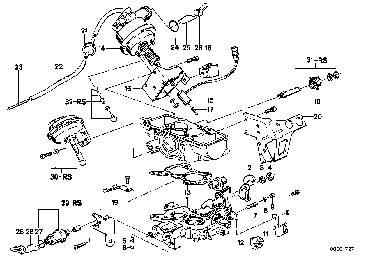 Throttle housing