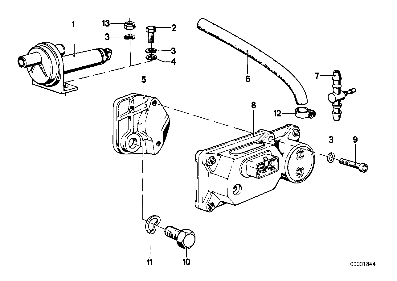 Additional air slide valve