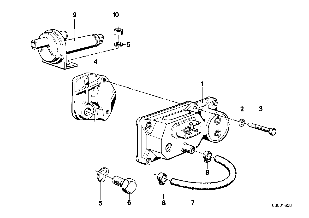 Addit.air slide valve/warm-up regulator
