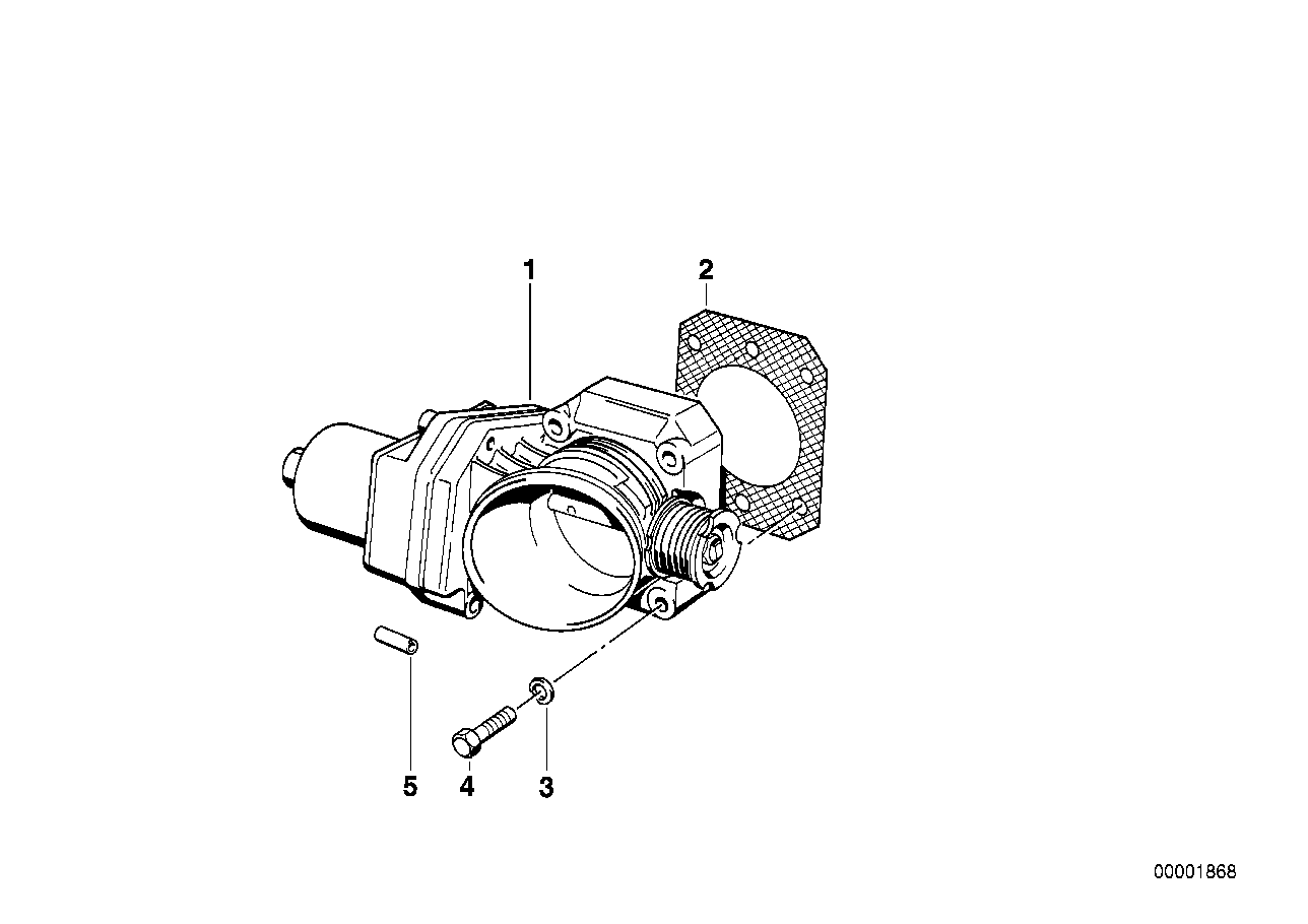 Throttle housing Assy Eml