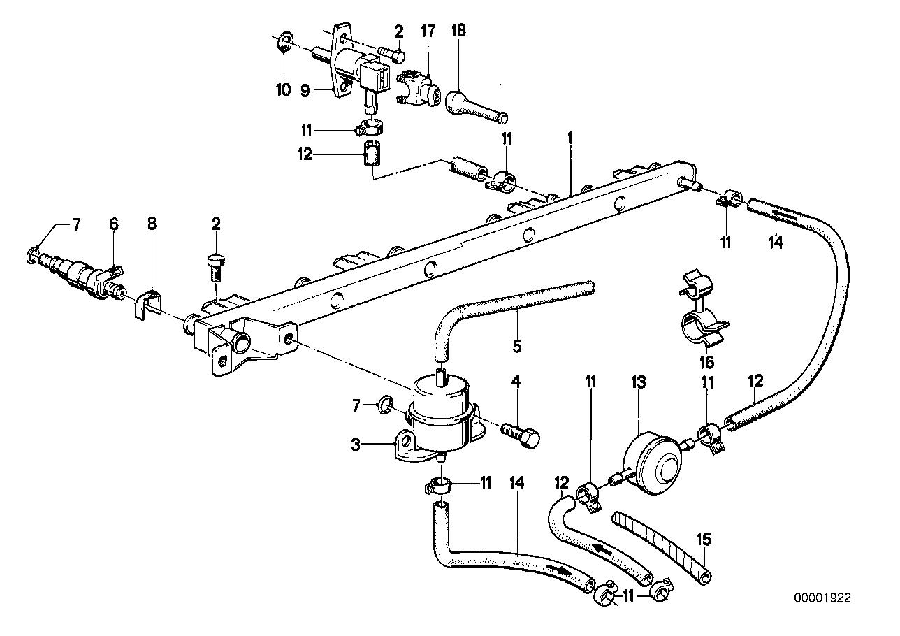 Fuel Preparation System BMW E28 sedan 47230