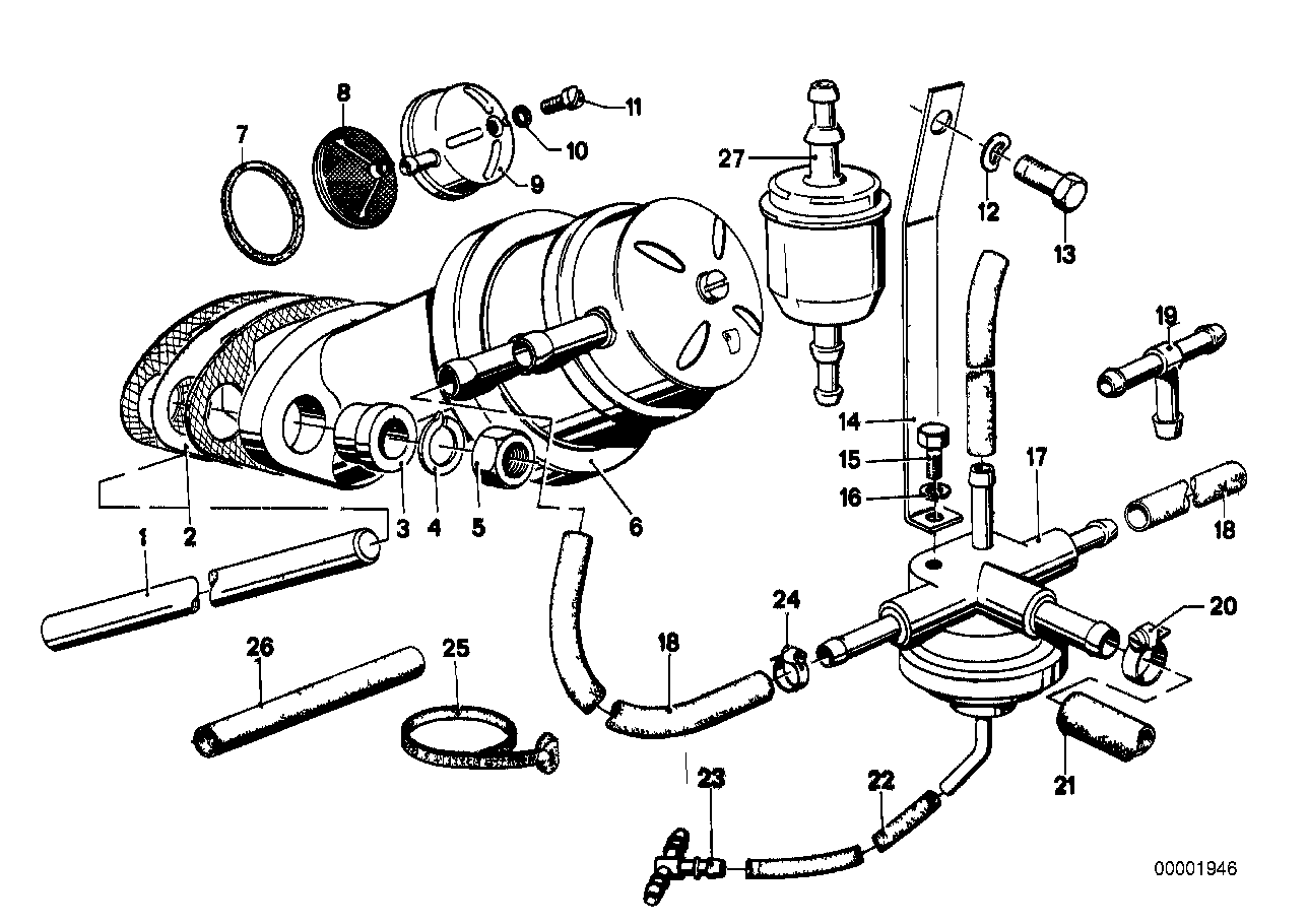 Fuel supply/pump/filter