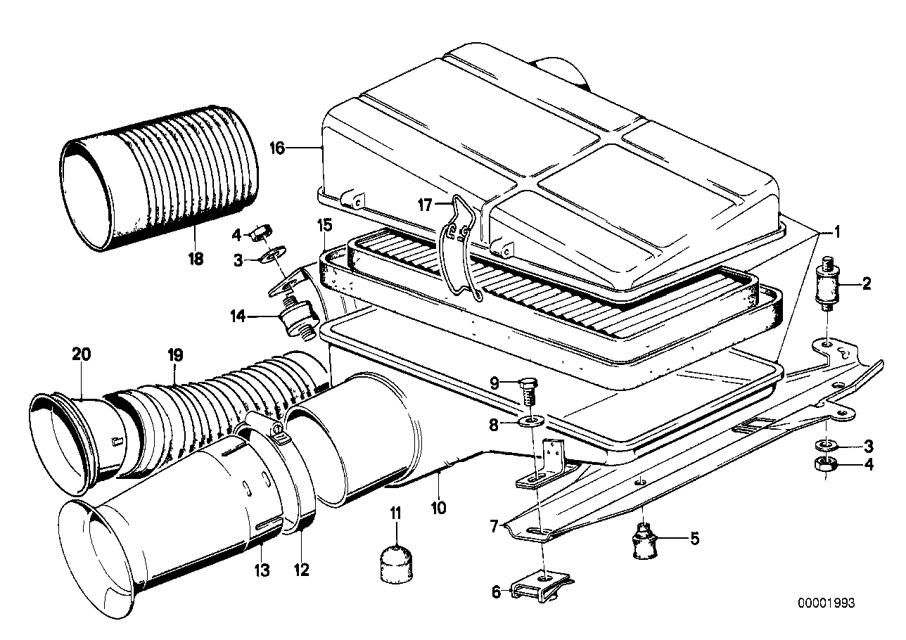 Intake silencer / Filter cartridge