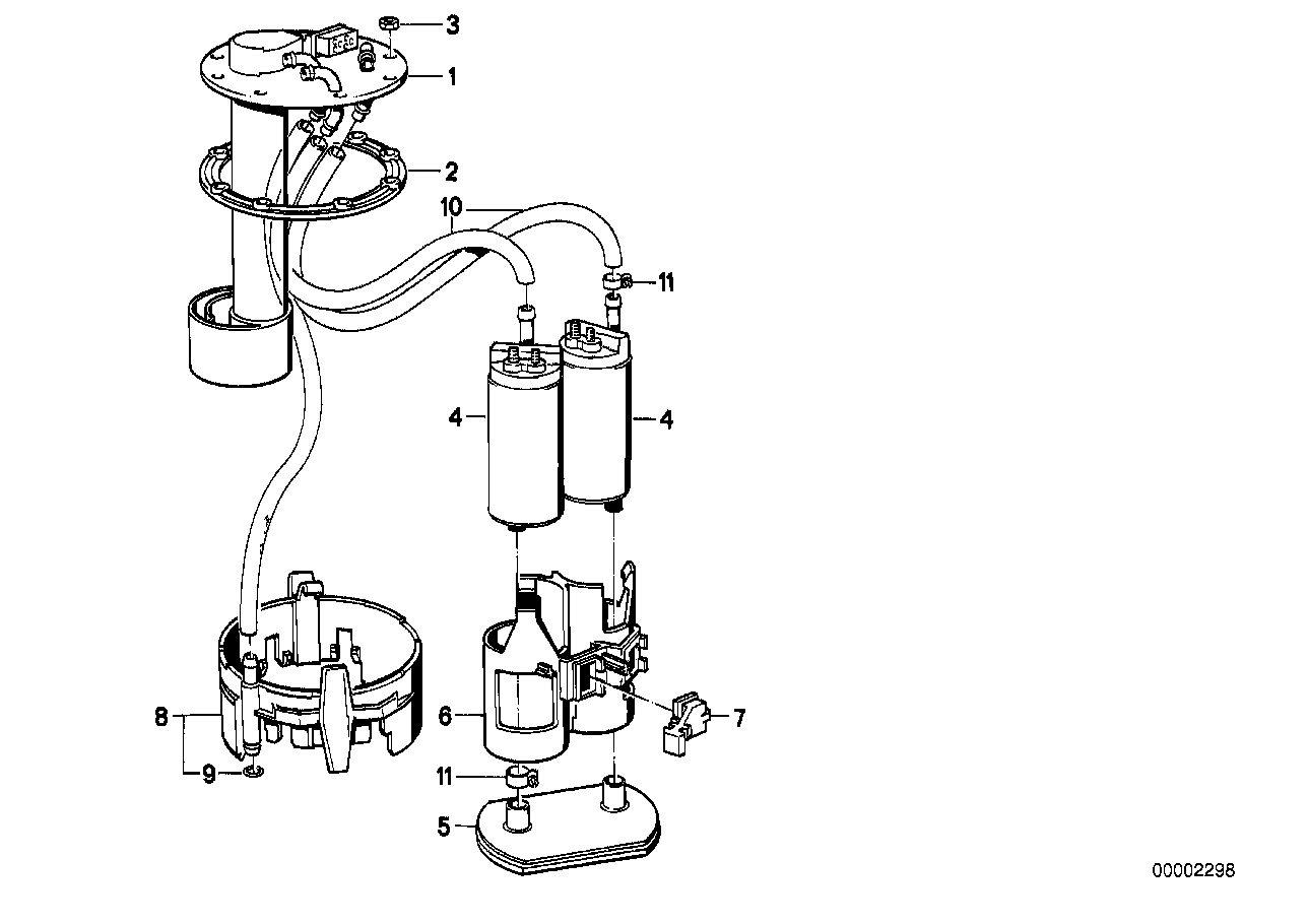 Suction device w.pump