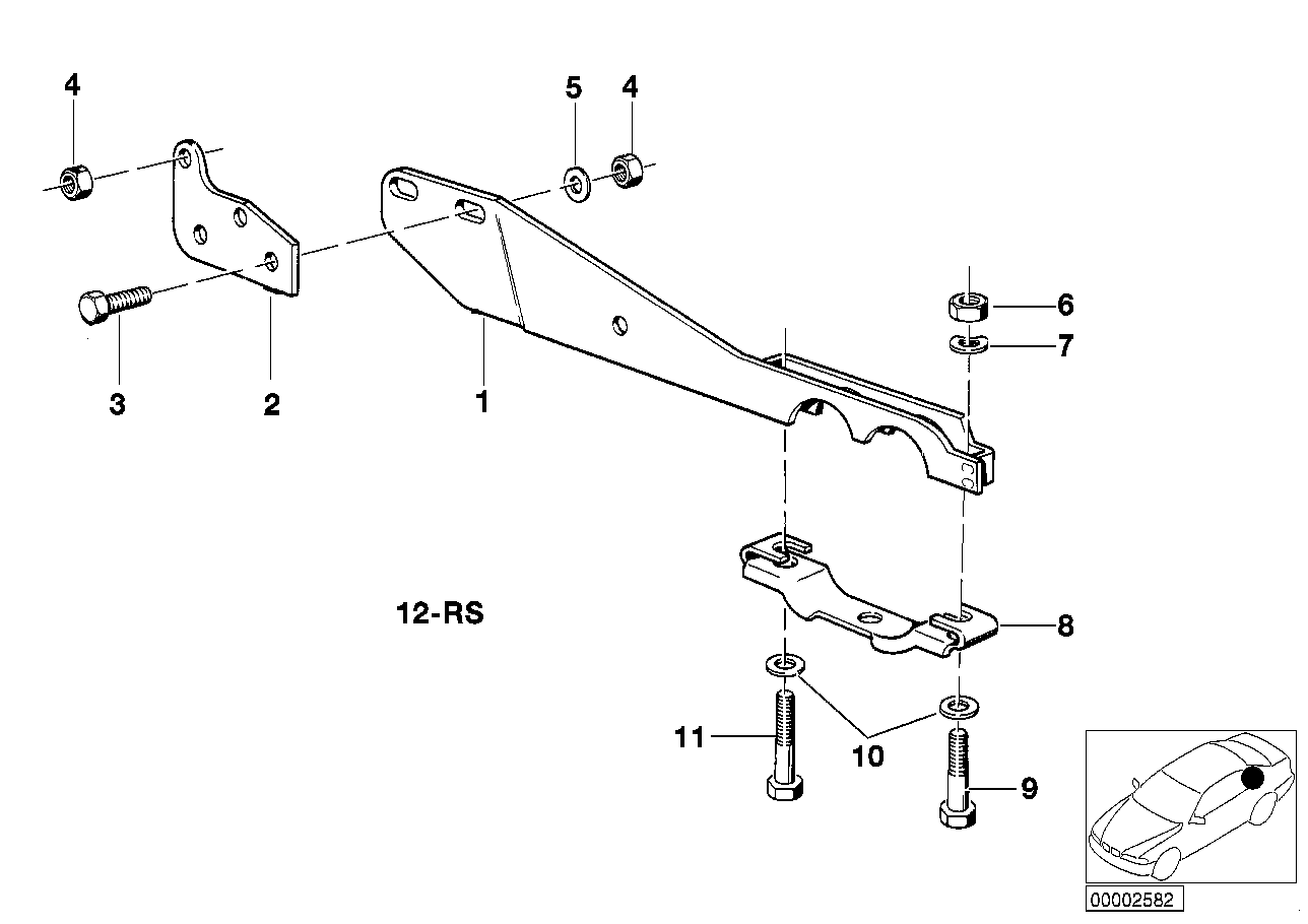 Suspension parts exhaust