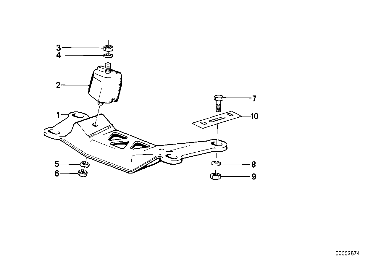 Gearbox suspension