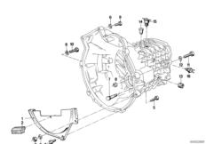 Manual Transmission BMW E21 sedan 47174