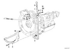 Automatic transmission BMW E21 sedan 47170