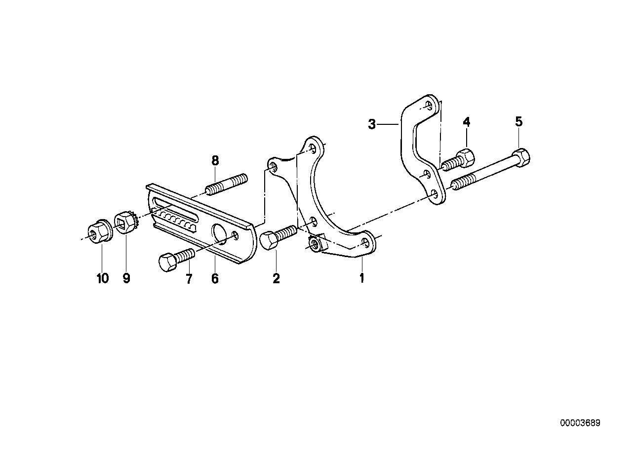 Hydro steering-vane pump/mounting