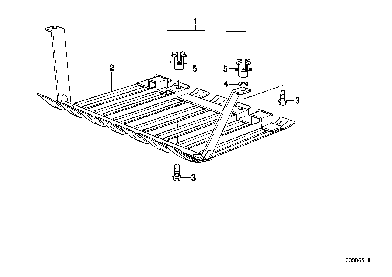 Front aggregate protective plate