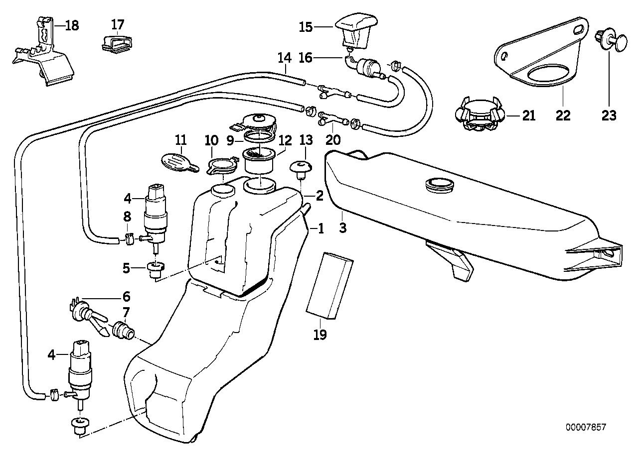 vehicle electrical system bmw e34 sedan 47377