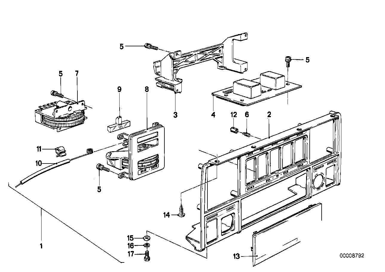 Heating/air conditioner actuation