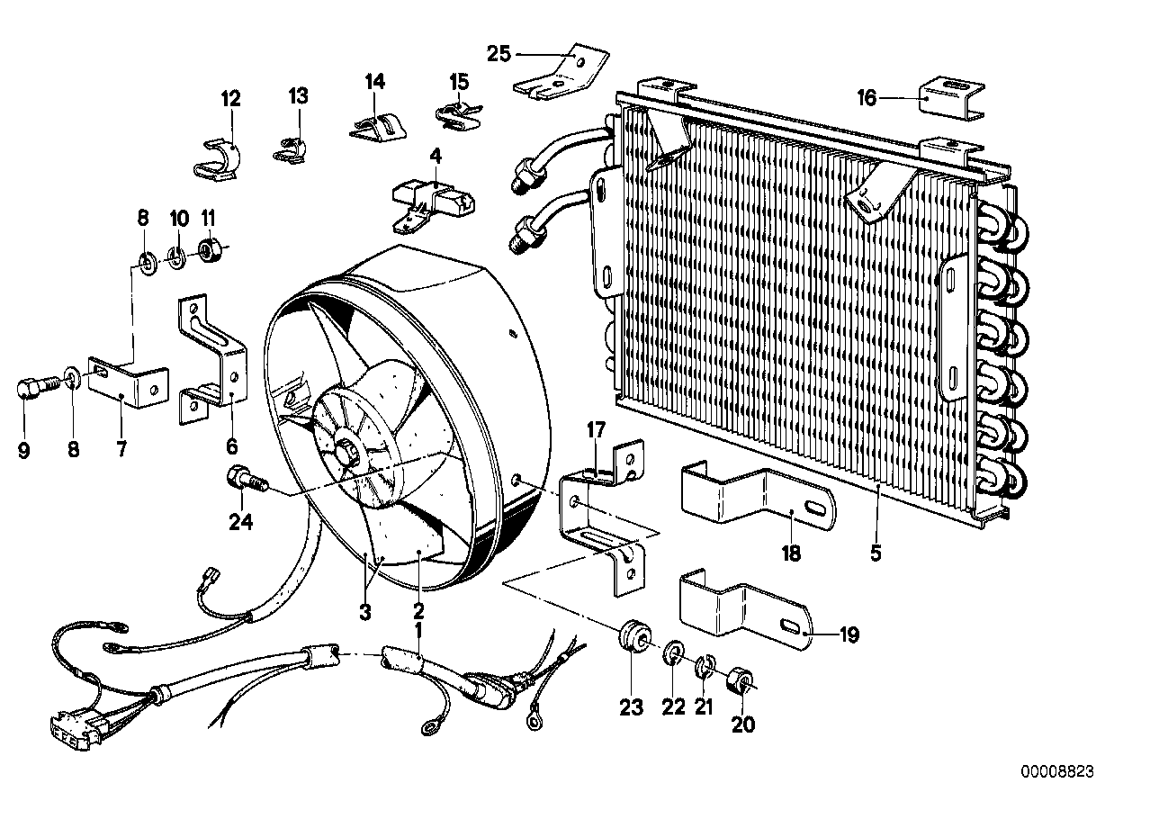 Climate capacitor/additional blower