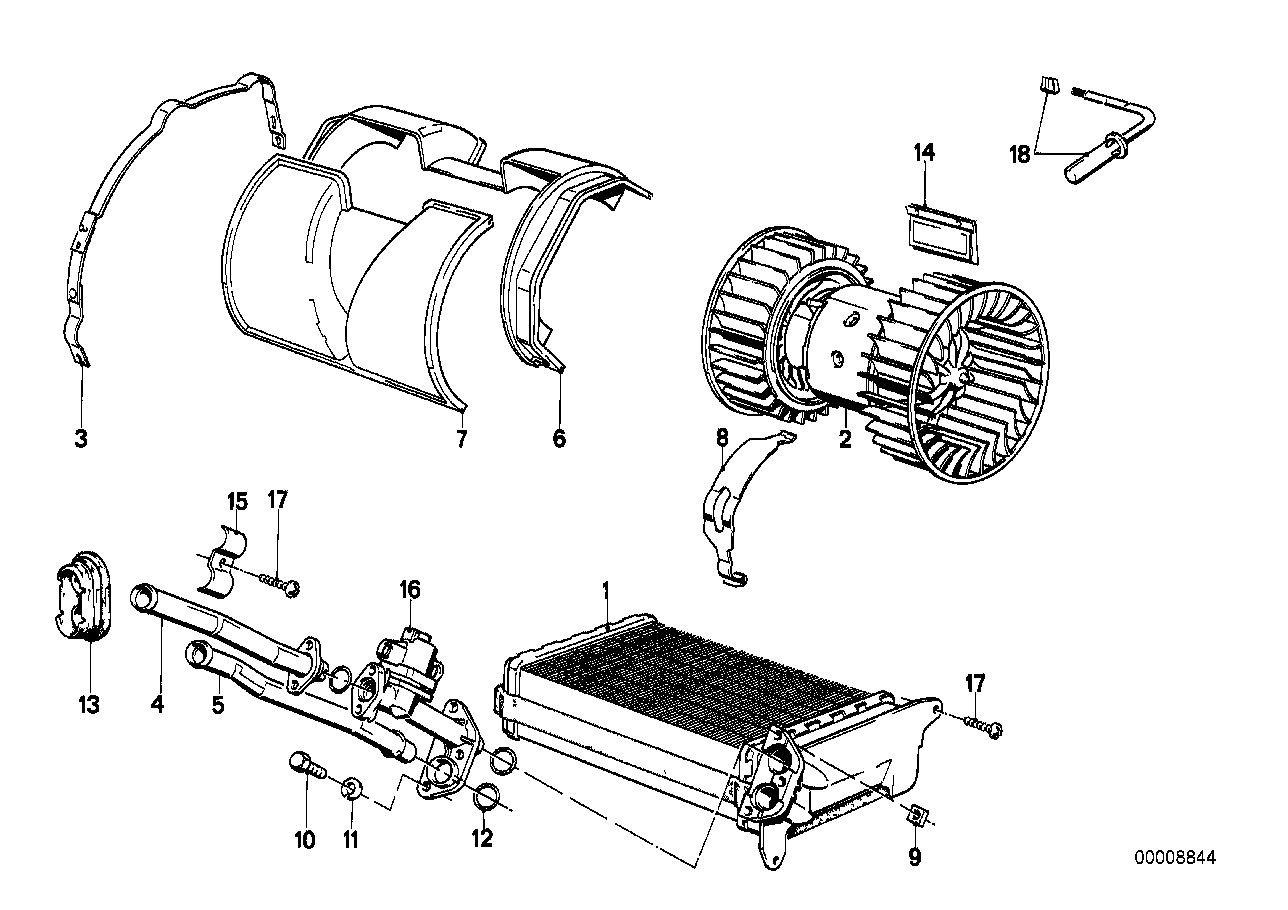 Doors Heater And Air Conditioning Heater On E30 Heater Hose Diagram