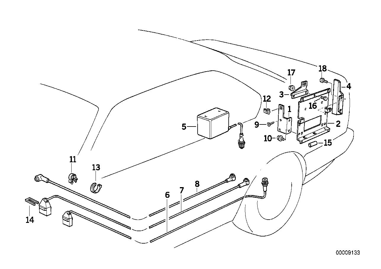 Audio, Navigation, Electronic Systems BMW E32 sedan 47344