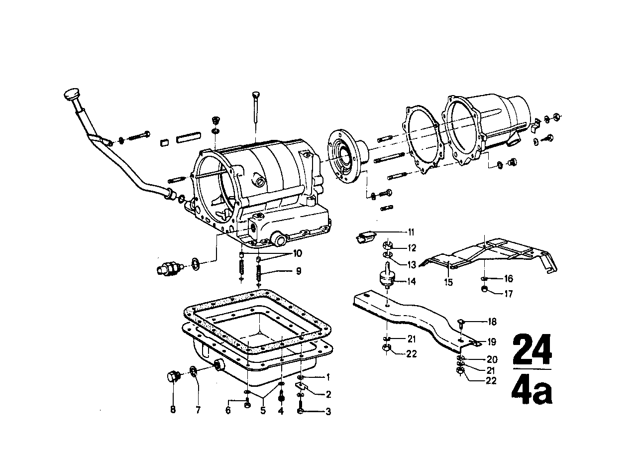 ZF 3hp12 mounting parts/suspension