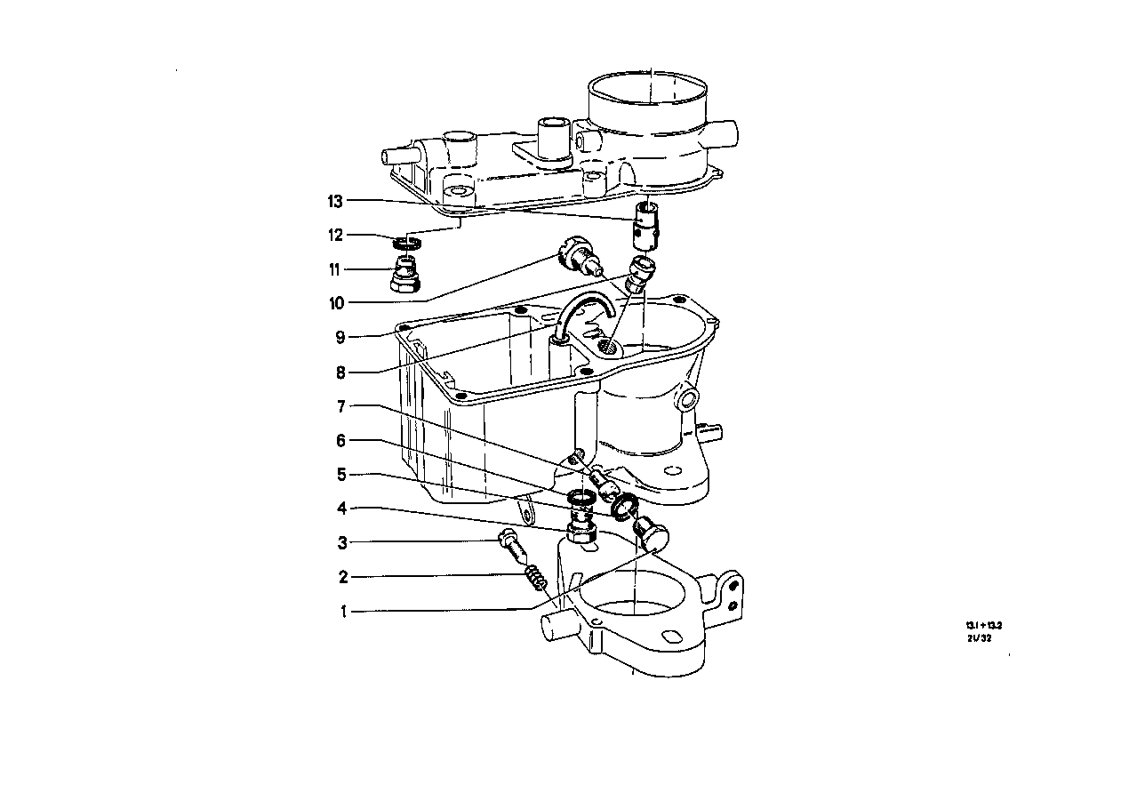 Carburetor-float assy/jet