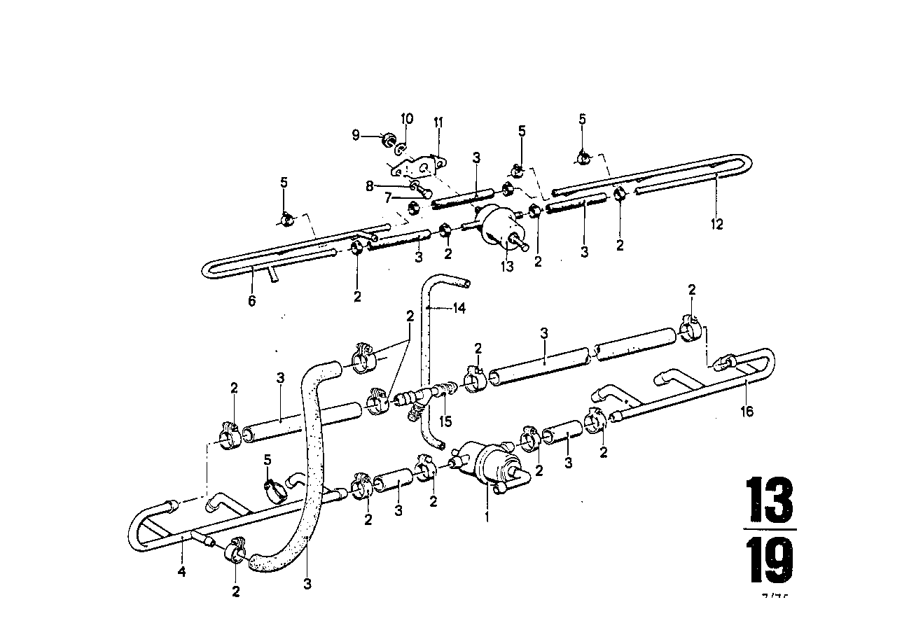 Fuel lines and pressure regulator