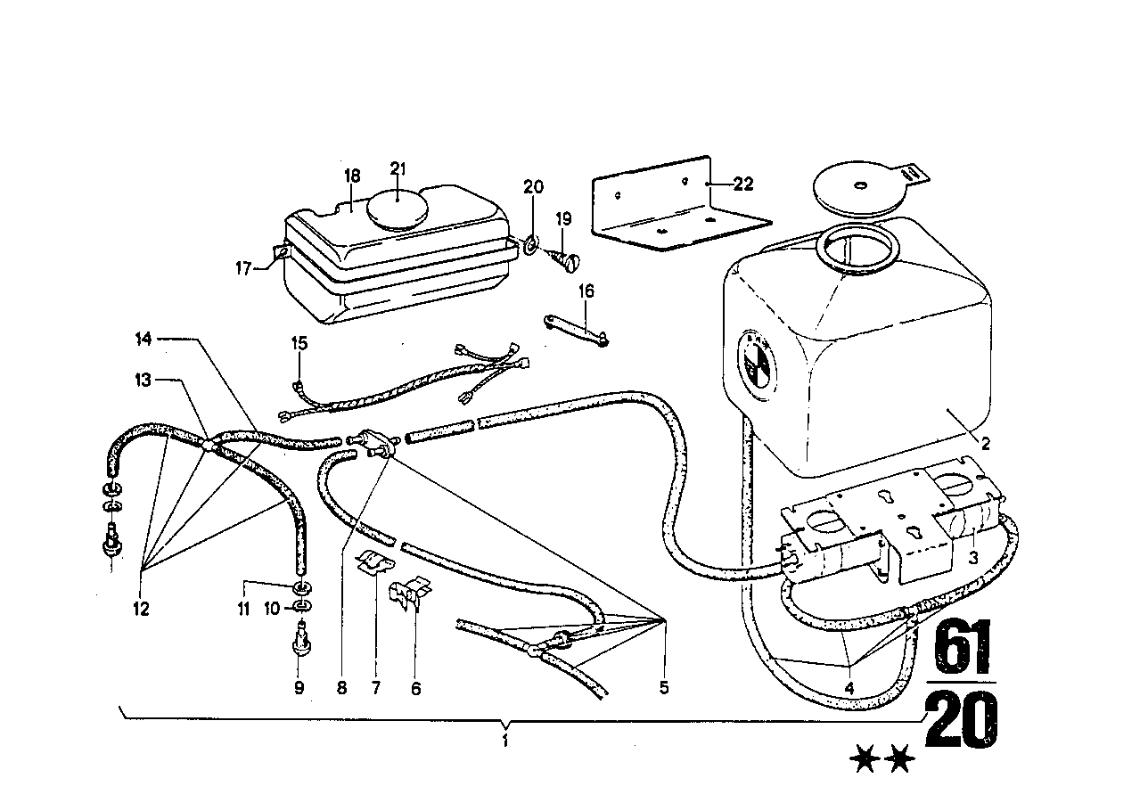 Windshield cleaning system