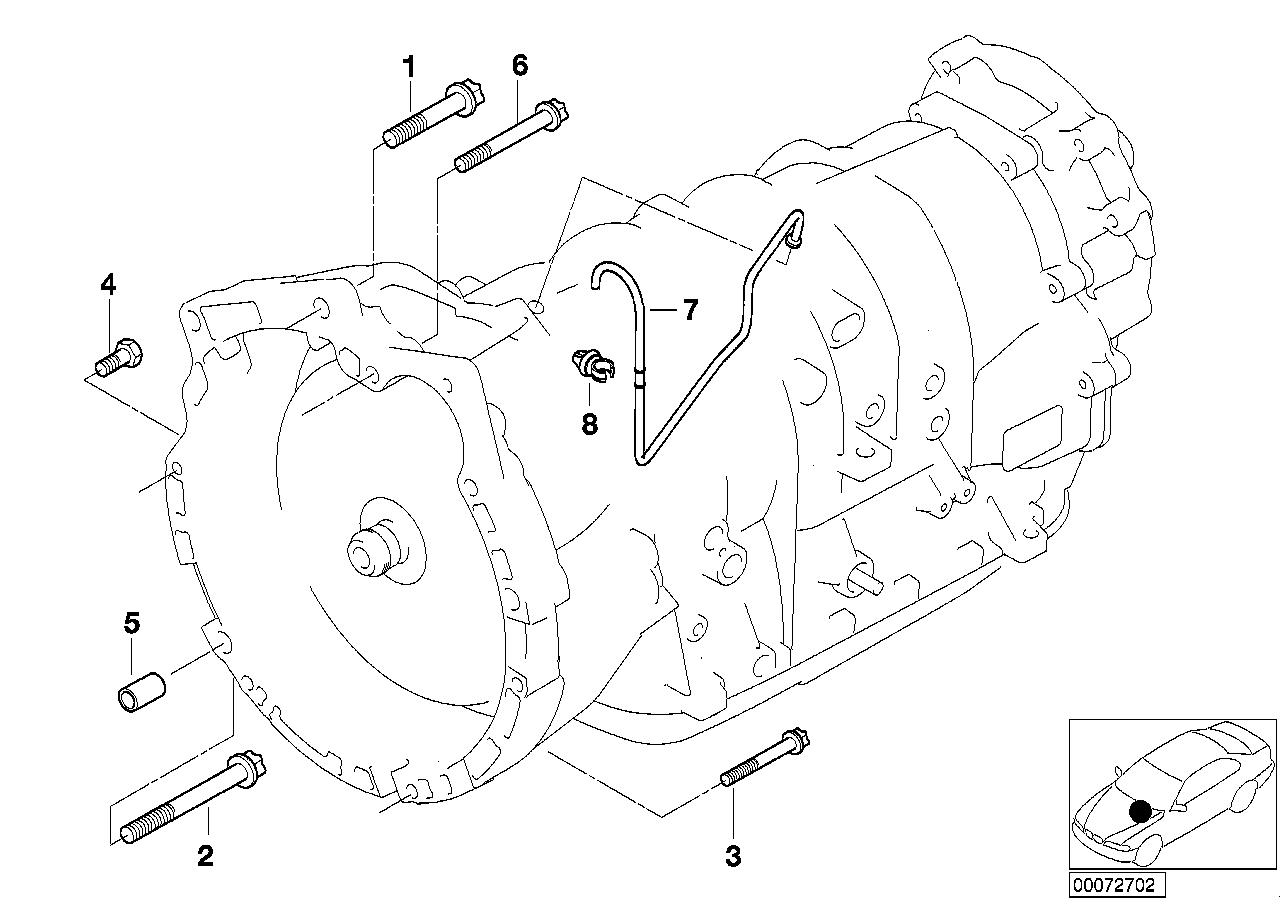 Gearbox mounting / ventilation