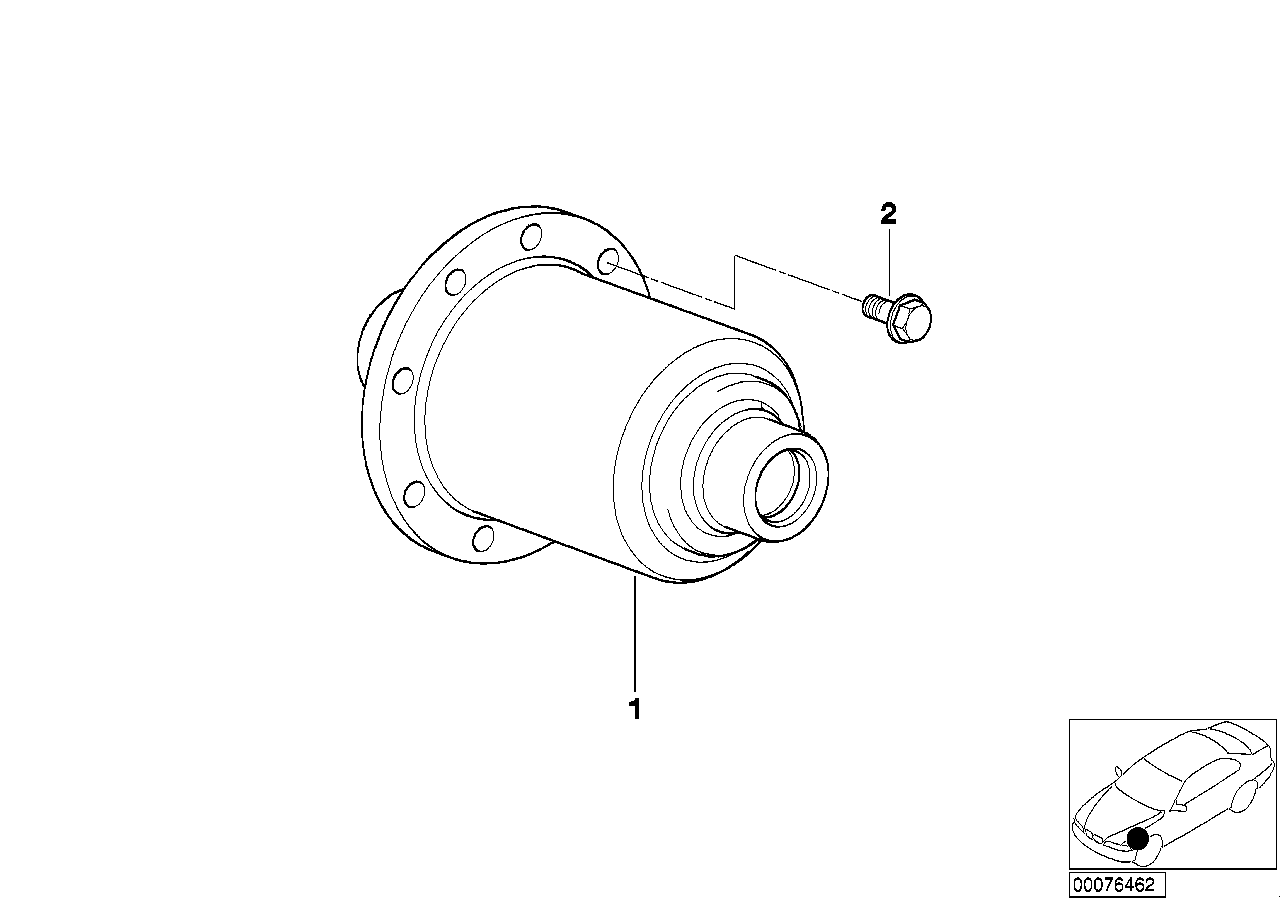 limited slip differential assembly