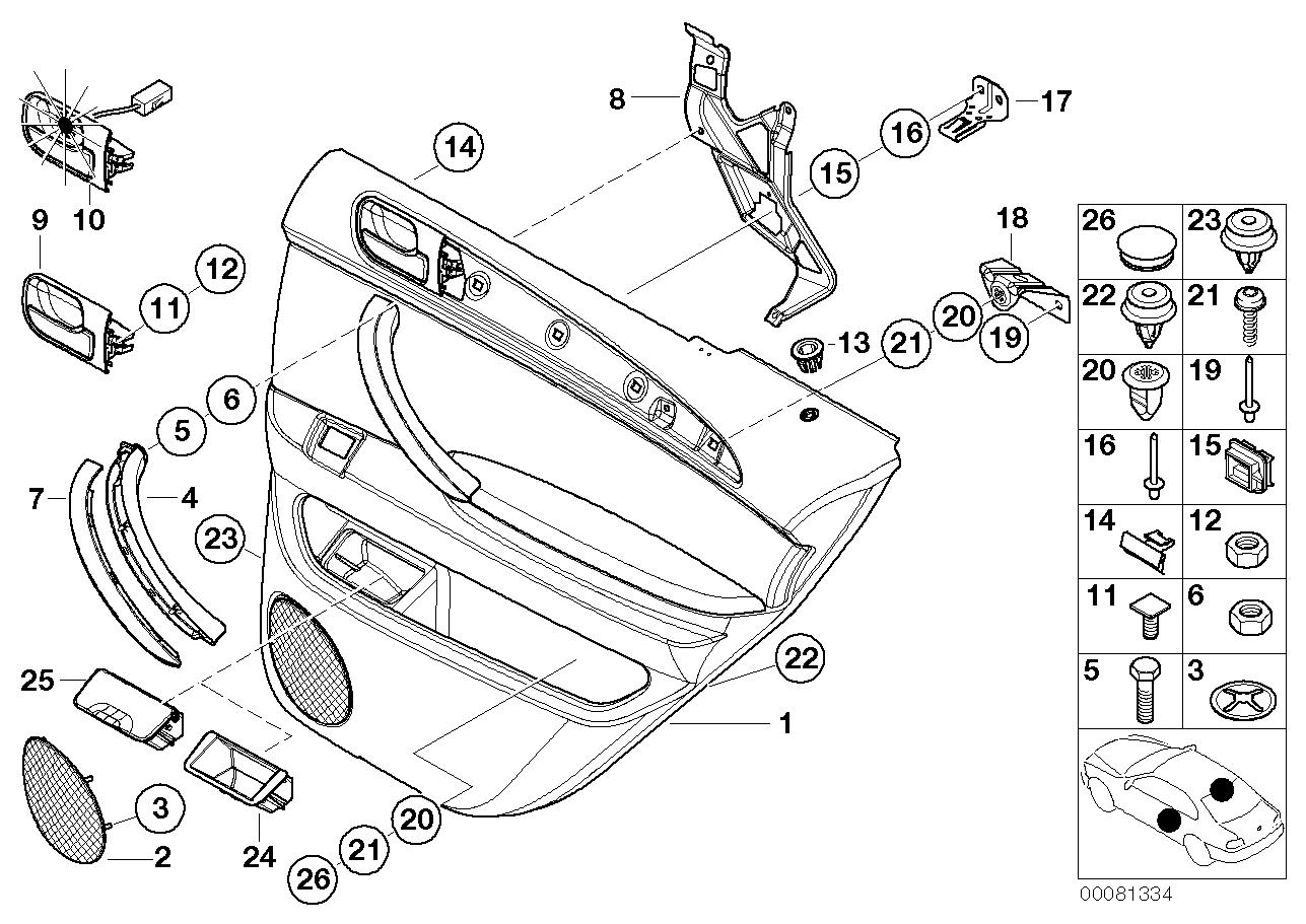 Engine Electrical System BMW E46 sedan 47639