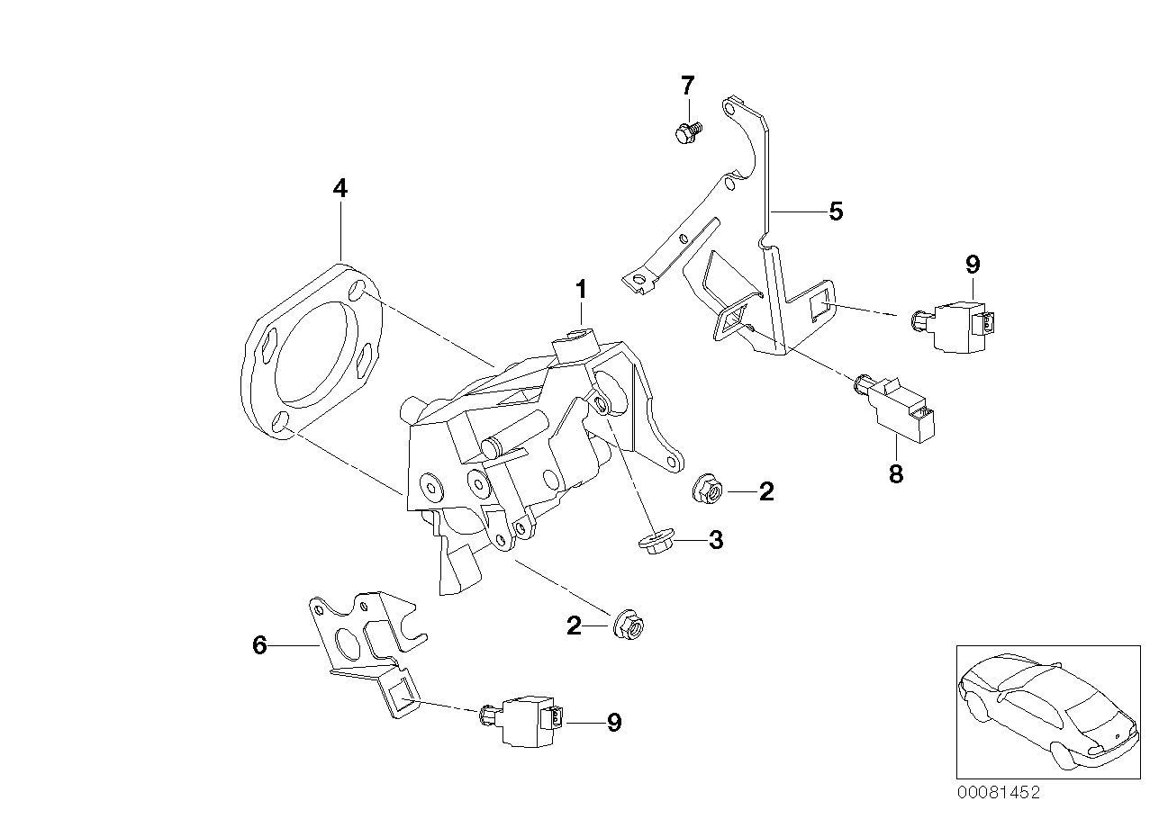 Pedals-supporting bracket