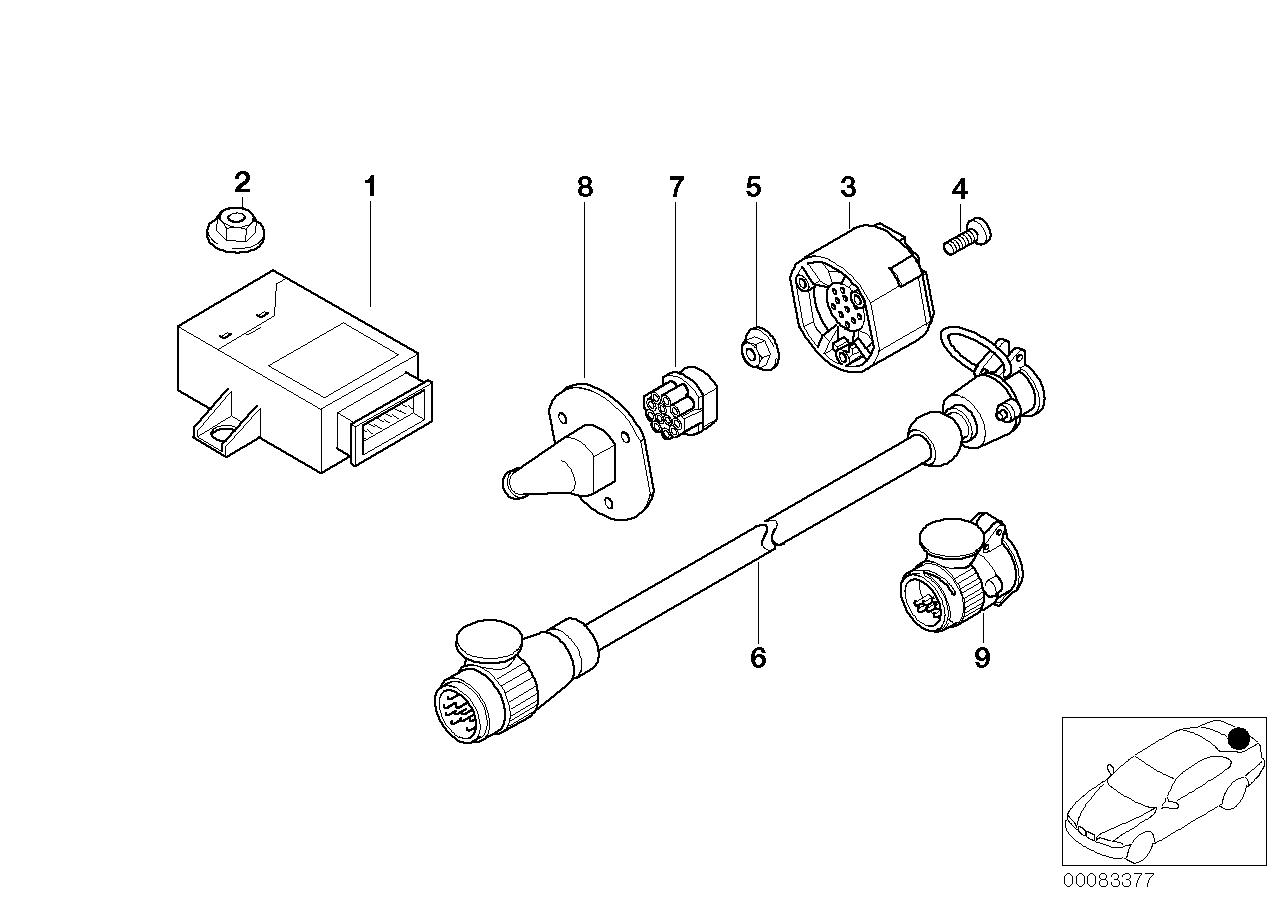 Equipment Parts BMW E53 SAV 47740