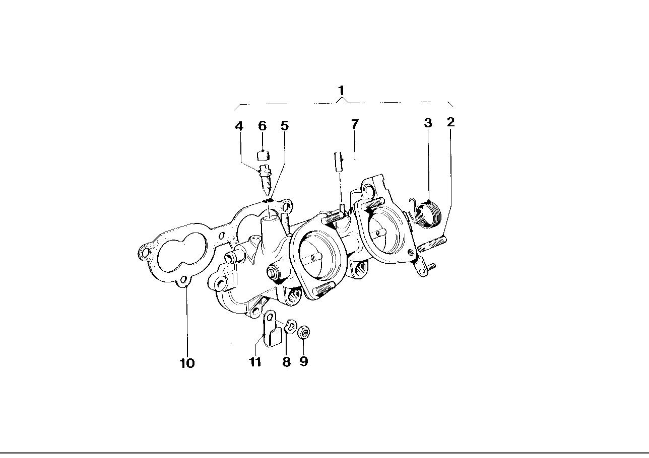 Throttle housing Assy