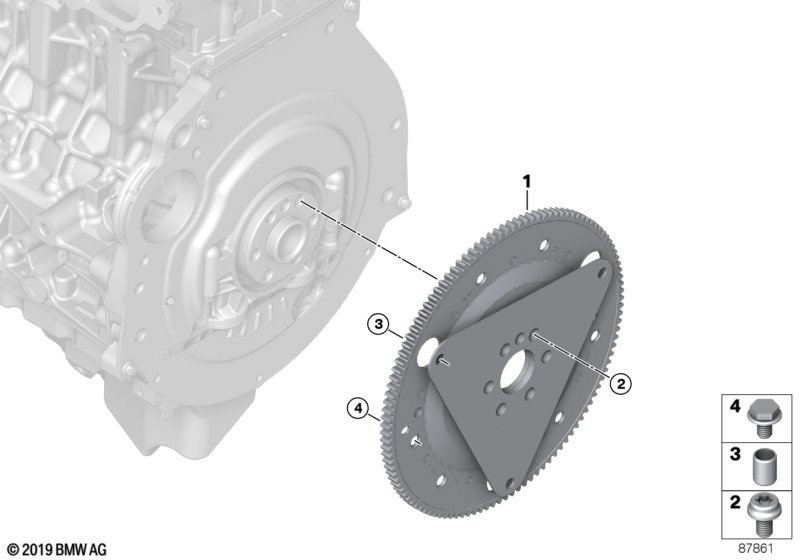 Flywheel automatic