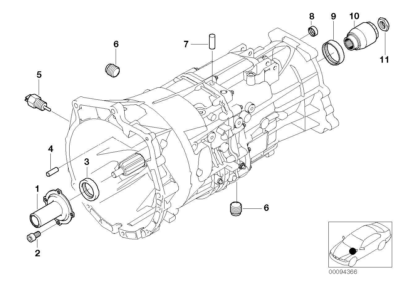 Caixa de velocidades manual BMW E53 SAV 47738