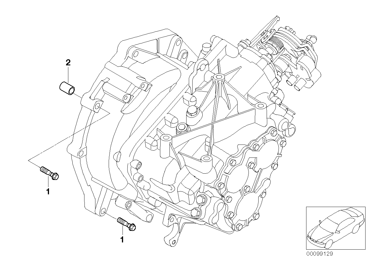 Manual Transmission BMW R53 3-doors 58562
