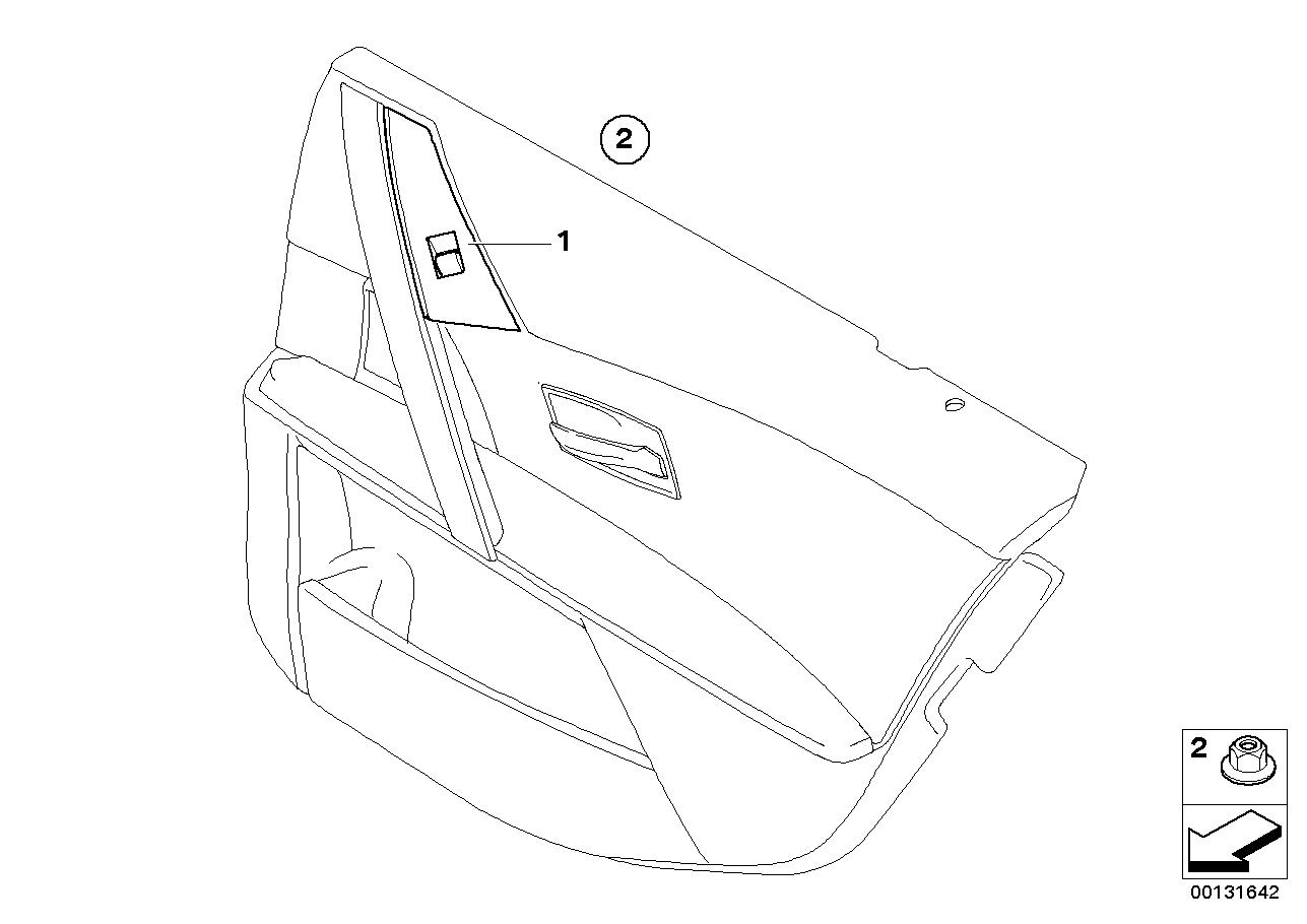 Vehicle electrical system BMW E60 sedan 47755
