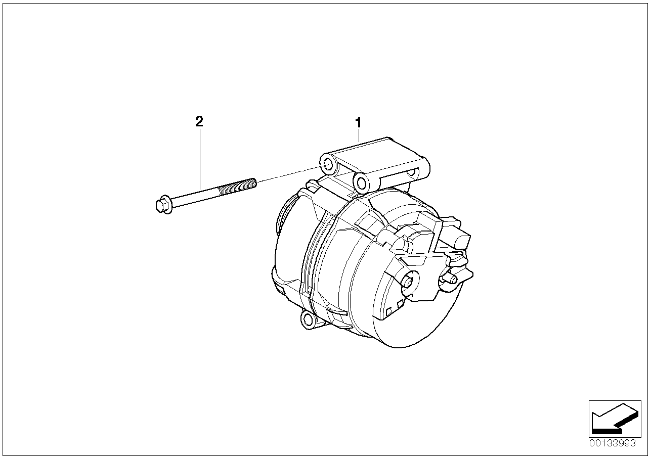 Engine Electrical System BMW R50 3-doors 58556