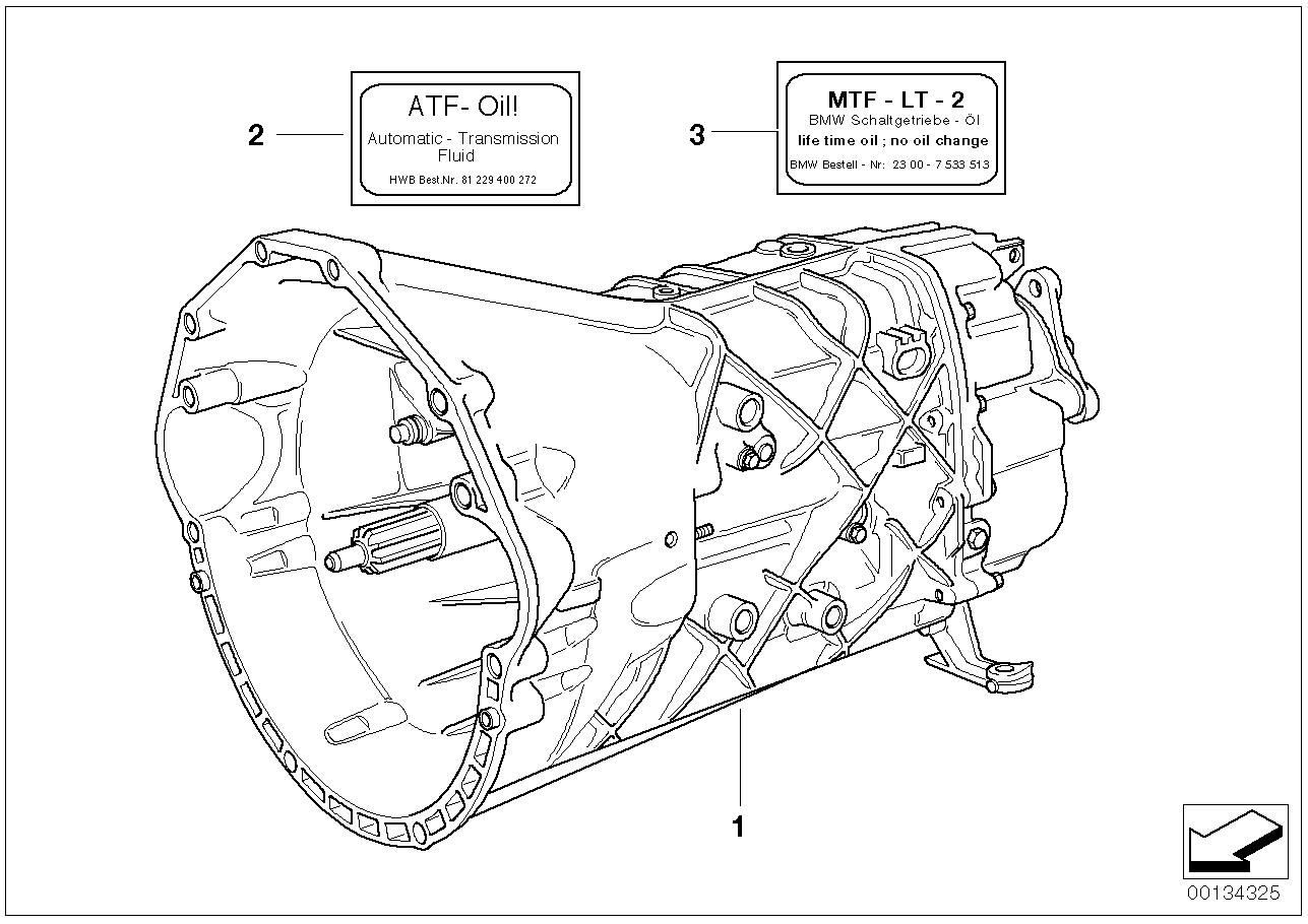 Manual Transmission BMW E31 coupe 47330