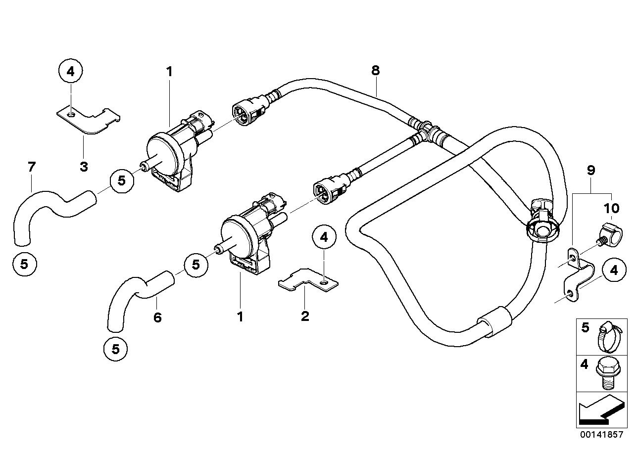 Fuel Preparation System BMW E60 sedan 48421