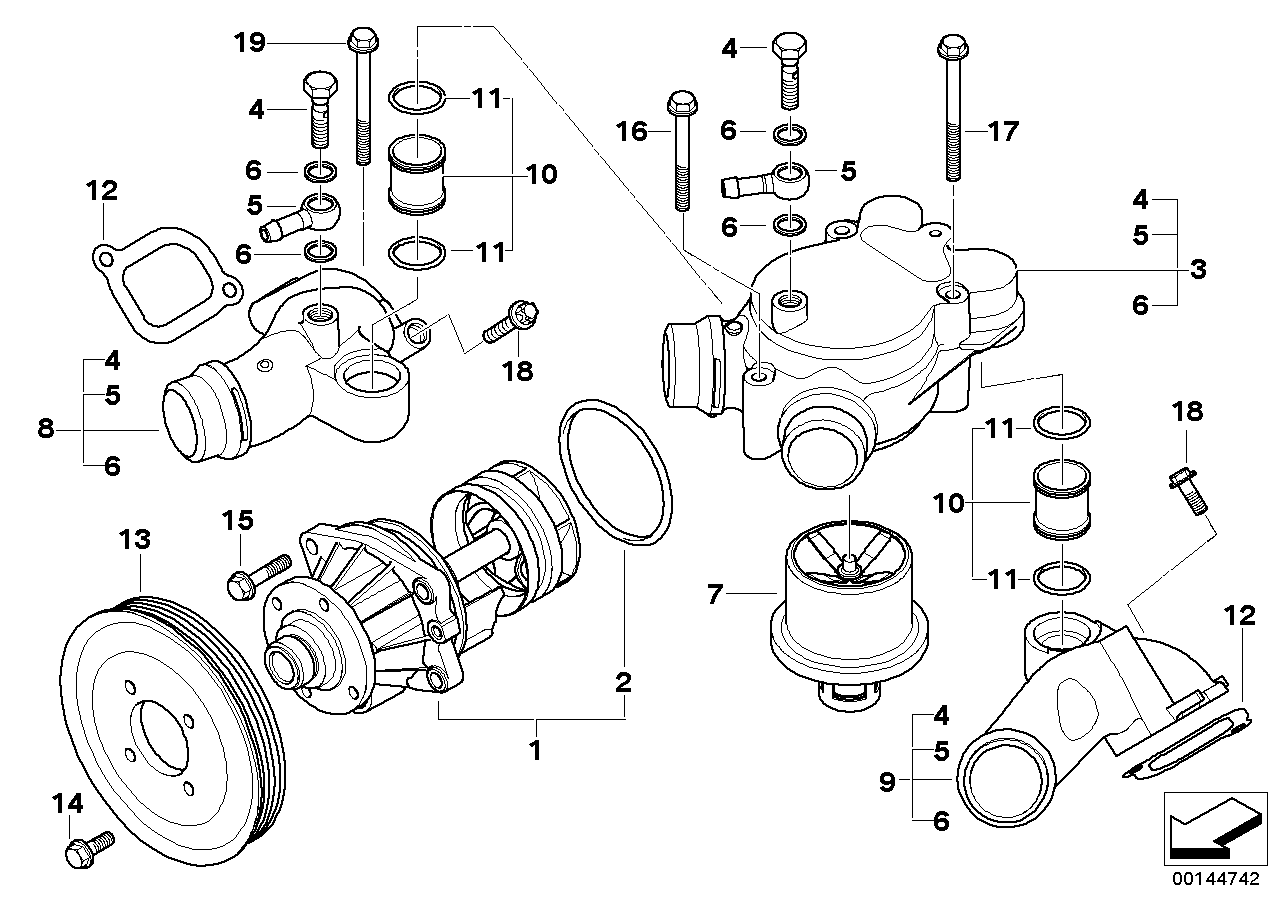 Waterpump - Thermostat