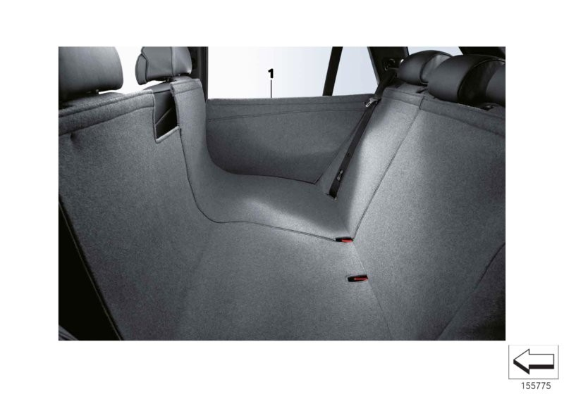 Universal protective rear cover