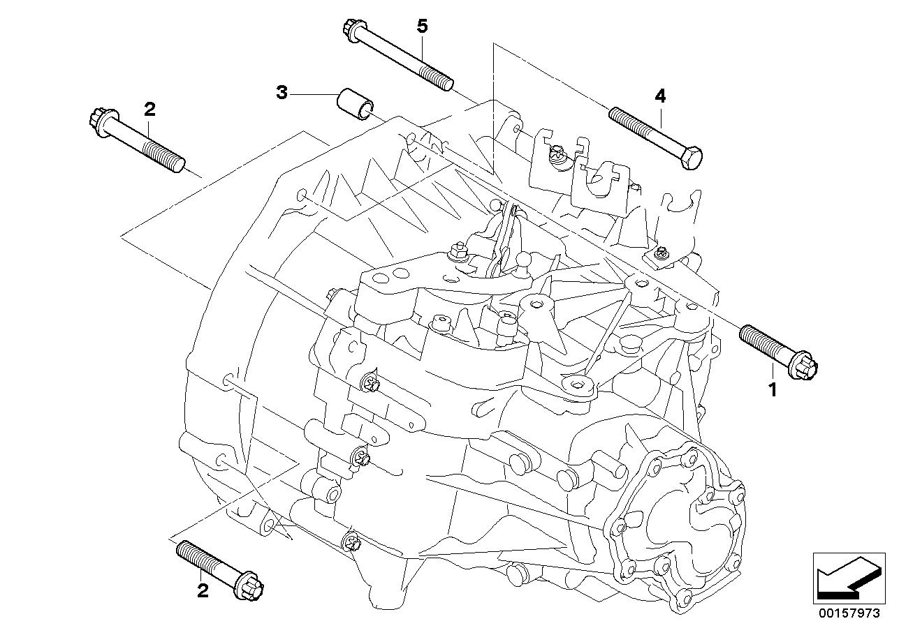 Caixa de velocidades manual BMW R56 3-portas 58565