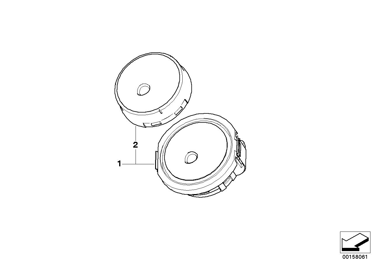 Vehicle electrical system BMW E70 SAV 50139