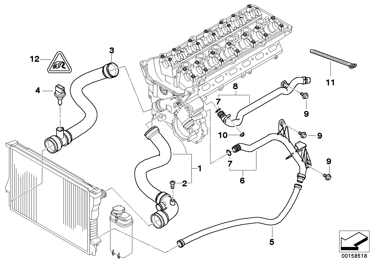 Radiator BMW E46 convertible 47706