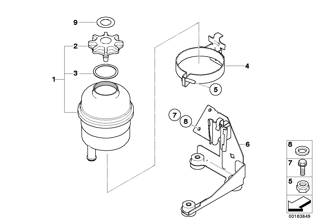 Oil carrier / Single parts