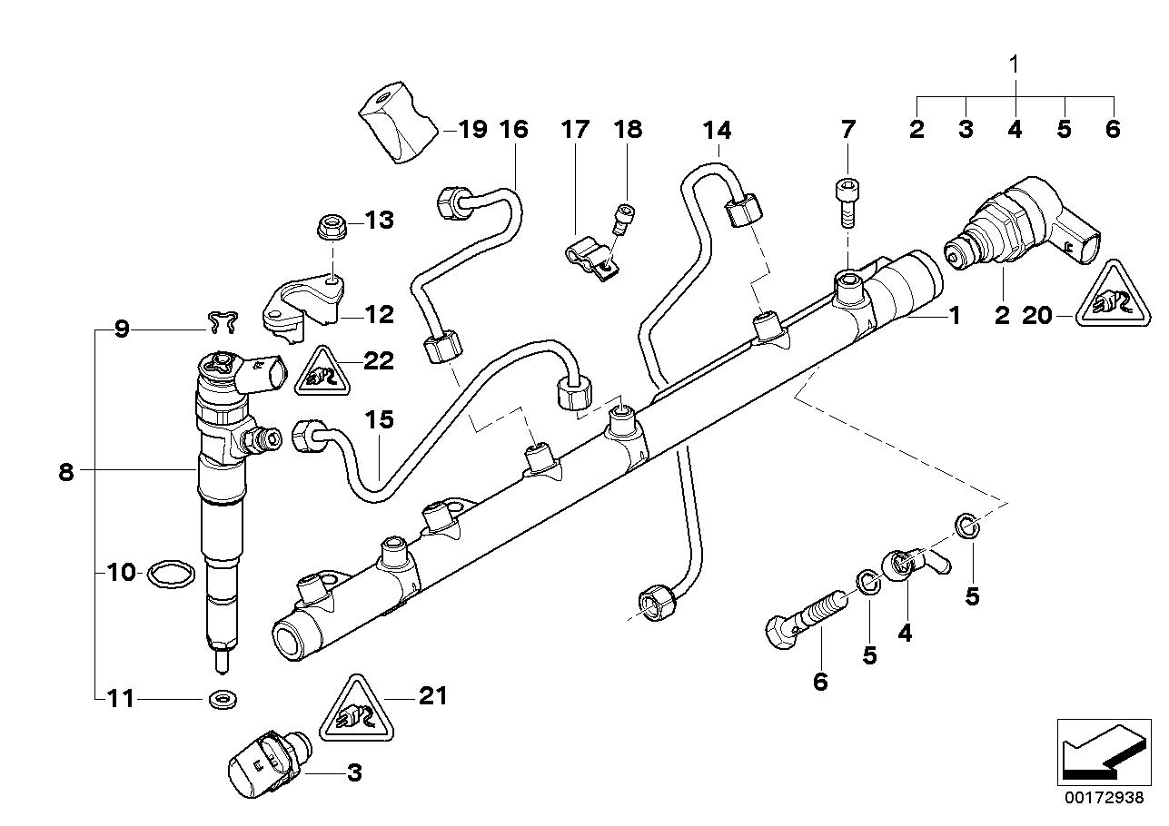 Fuel Preparation System BMW E53 SAV 47739